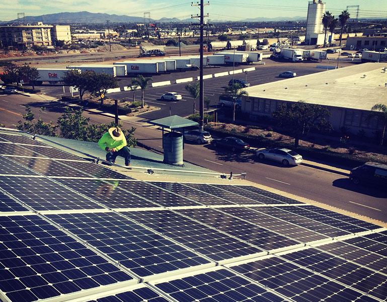 Commercial Solar San Diego California